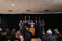 STATEN ISLAND, NY - OCTOBER 12: NY Governor Andrew Cuomo announces support for a new bill that would categorize 11 different Fentanyl variations as controlled substances giving law enforcement the ability to pursue dealers and manufacturers of the drug across NY State in a press conference on Staten Island in New York City on October 12, 2017. Credit: Dennis Van Tine/MediaPunch