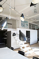 Modern black lamps