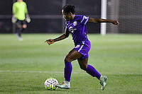 Piscataway, NJ - Wednesday Sept. 07, 2016: Jasyne Spencer during a regular season National Women's Soccer League (NWSL) match between Sky Blue FC and the Orlando Pride FC at Yurcak Field.