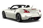 Car pictures of rear three quarter view of a 2019 Nissan 370Z  Touring  2 Door Convertible angular rear