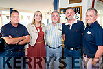 Tralee Bay Sailing Club Summer Party on Friday were<br /> Left to right: Declan Costello, Fiona Frawley, Liam Freeman, Louis Byrne, James Kelliher