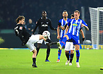 03.11.2018, OLympiastadion, Berlin, GER, DFL, 1.FBL, Hertha BSC VS. RB Leipzig, <br /> DFL  regulations prohibit any use of photographs as image sequences and/or quasi-video<br /> <br /> im Bild Ondrej Duda  (Hertha BSC Berlin #10), Marcel Sabitzer (RB Leipzig #7)<br /> <br />       <br /> Foto © nordphoto / Engler