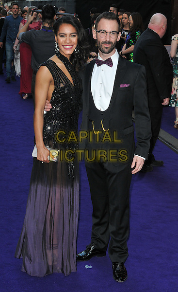 Lucy St Louis &amp; guest at the &quot;Disney's Aladdin&quot; press night, Prince Edward Theatre, Old Compton Street, London, England, UK, on Wednesday 15 June 2016.<br /> CAP/CAN<br /> &copy;CAN/Capital Pictures