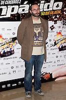 26.07.2012. Premier at Palafox Cinema in Madrid of the movie 'Impavido´, directed by Carlos Theron and starring by Marta Torne, Selu Nieto, Nacho Vidal, Carolina Bona, Julian Villagran and Manolo Solo. In the image Carlos Theron (Alterphotos/Marta Gonzalez) /NortePhoto.com <br /> <br /> **CREDITO*OBLIGATORIO** *No*Venta*A*Terceros*<br /> *No*Sale*So*third* ***No*Se*Permite*Hacer Archivo***No*Sale*So*third*©Imagenes*con derechos*de*autor©todos*reservados*.
