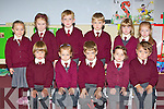 Junior Infants from Knockaderry NS, Farranfore on Friday front row l-r: Daithi? O'Shea, Ciara Shanahan, Kian Costello, Leah Whelan, Luke Henderson. Back row: Laura Flynn, Meadhbh Daly, Simon O'Leary, Colm Riordain, Chloe Deniel and Laura Fitzgerald..