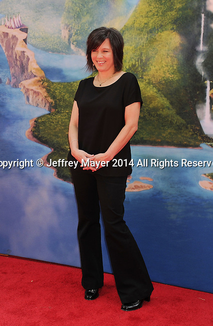 BURBANK, CA- MARCH 22: Director Peggy Holmes attends the premiere of DisneyToon Studios' 'The Pirate Fairy' at Walt Disney Studios on March 22, 2014 in Burbank, California.