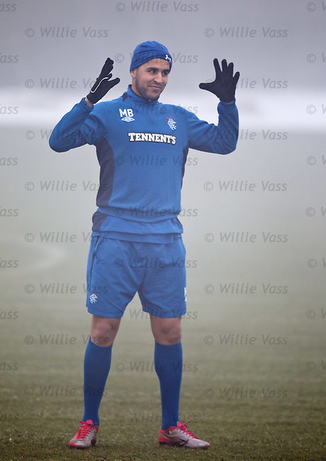 Madjid Bougherra looming large in the fog