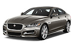 2017 Jaguar XE 4dr-Sdn-20d-R-Sport-RWD 4 Door Sedan Angular Front stock photos of front three quarter view