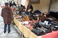 La Fiera Antiquaria di Arezzo.<br /> Antiquarian Fair in downtown Arezzo, Tuscany.<br /> UPDATE IMAGES PRESS/Riccardo De Luca