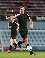 Dan Osborne of TOWIE during West Ham United supporters say farewell to the Boleyn ground playing a friendly match on the pitch at the Boleyn Ground, London, England on 20 May 2016. Photo by Andy Rowland.