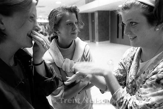 Laura Nelson, Pat Quayle, Sue Quayle<br />