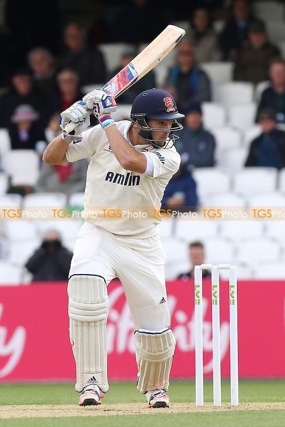 Nick Browne in batting action for Essex - Surrey CCC vs Essex CCC - LV County Championship Division Two Cricket at the Kia Oval, Kennington, London - 27/04/15 - MANDATORY CREDIT: Gavin Ellis/TGSPHOTO - Self billing applies where appropriate - contact@tgsphoto.co.uk - NO UNPAID USE