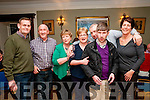 Benefit Dance : Attending the benefit dance for Robert Barry at the Listowel Arms Hotel on Saturady night last were Pat O'Hanlon, Bernie Sweeney, Alice O'Connor, Rena Sweeney, Willie Devlin, Anthony Finnerty & Jonie McGrath.