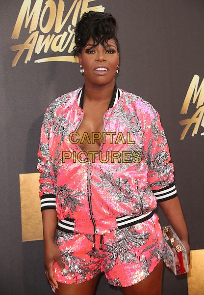 09 April 2016 - Burbank, California - Ta'Rhonda Jones. 2016 MTV Movie Awards held at Warner Bros. Studios. <br /> CAP/ADM/SAM<br /> &copy;SAM/ADM/Capital Pictures