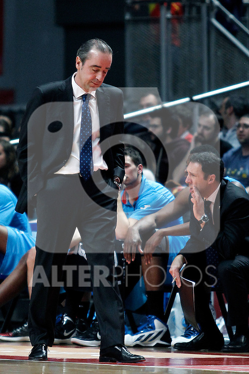 Estudiantes's Txus Vidorreta during Liga Endesa match. March 3,2013.(ALTERPHOTOS/Alconada)