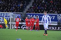 VOETBAL: HEERENVEEN: 06-02-16, Abe Lenstra Stadion, SC Heerenveen - FC Twente, uitslag 1-3, FC Twente scoort, ©foto Martin de Jong