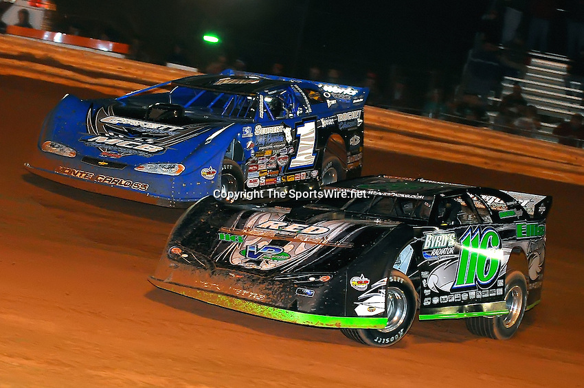 Jan 28, 2010; 7:46:25 PM; Waynesville, GA., USA; The Southern All Stars Racing Series running The Super Bowl of Racing VI at Golden Isles Speedway.  Mandatory Credit: (thesportswire.net)