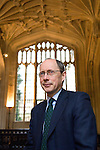 Andrew Dilnot at the Divinity School at the Bodleian Library during the Sunday Times Oxford Literary Festival, UK, 16 - 24 March 2013.<br />