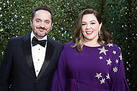 Golden Globe nominee Melissa McCarthy (R) and Ben Falcone attends the 76th Annual Golden Globe Awards at the Beverly Hilton in Beverly Hills, CA on Sunday, January 6, 2019.<br /> *Editorial Use Only*<br /> CAP/PLF/HFPA<br /> Image supplied by Capital Pictures