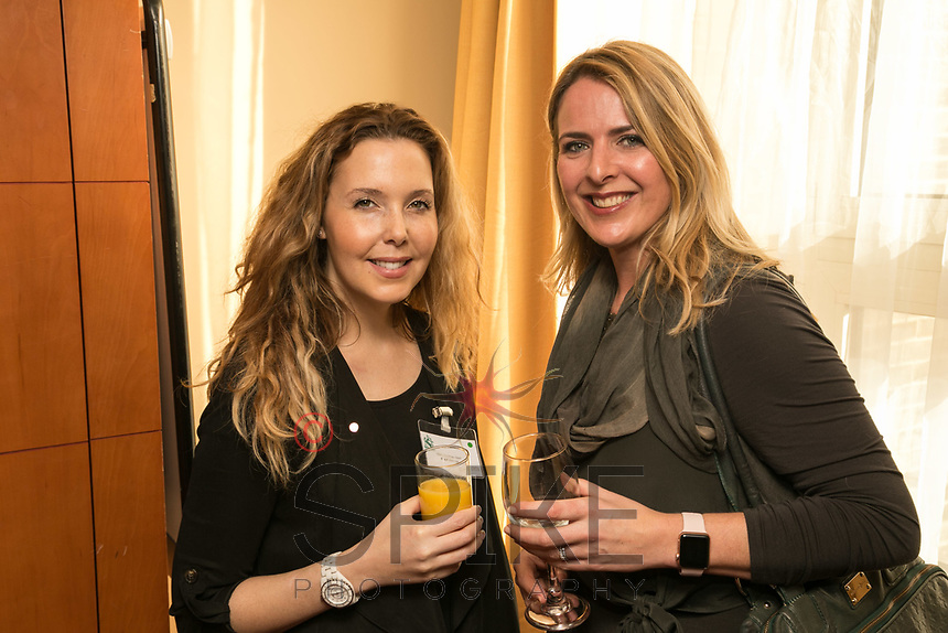 Fiona Duncan-Steer (left) of RSVIP Network and Vctoria Branch of the Marketing Centre
