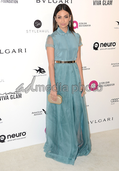 28 February 2016 - West Hollywood, California - Floriana Lima. 24th Annual Elton John Academy Awards Viewing Party sponsored by Bvlgari, MAC Cosmetics, Neuro Drinks and Diana Jenkins held at West Hollywood Park. Photo Credit: Birdie Thompson/AdMedia