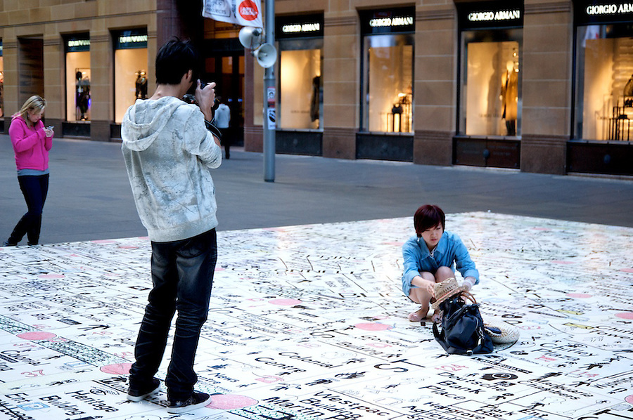 Everyday life in Sydney Central Business District