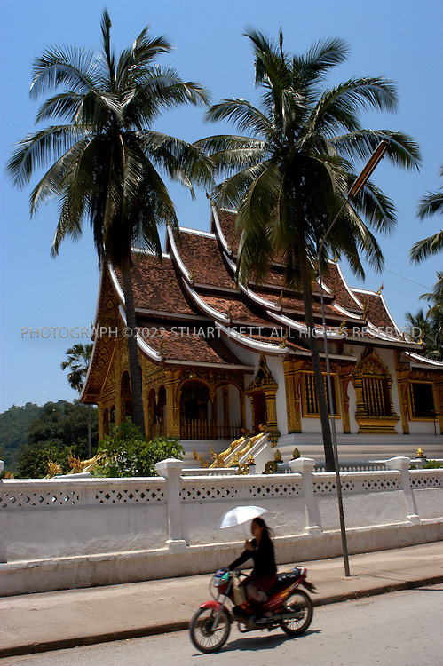 5/1/2003--Luang Prabang, Laos..Wat Pha Pay, Luang Prabang...All photographs ©2003 Stuart Isett.All rights reserved.This image may not be reproduced without expressed written permission from Stuart Isett.