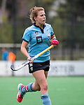 BLOEMENDAAL - captain Lisa Harteveld (HGC) , 2e play out wedstrijd tussen Bloemendaal-HGC dames (2-0). COPYRIGHT KOEN SUYK