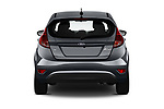 Straight rear view of a 2019 Ford Fiesta SE 5 Door Hatchback stock images