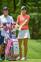 Anna Nordqvist (SWE) looks over her tee shot on 11 during round 2 of the U.S. Women's Open Championship, Shoal Creek Country Club, at Birmingham, Alabama, USA. 6/1/2018.<br /> Picture: Golffile | Ken Murray<br /> <br /> All photo usage must carry mandatory copyright credit (&copy; Golffile | Ken Murray)