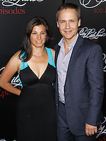 HOLLYWOOD, LOS ANGELES, CA, USA - MAY 31: Kim Painter, Chad Lowe at the 'Pretty Little Liars' 100th Episode Celebration held at W Hotel Hollywood on May 31, 2014 in Hollywood, Los Angeles, California, United States. (Photo by Xavier Collin/Celebrity Monitor)