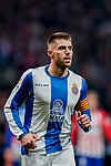 David Lopez Silva of RCD Espanyol looks on during the La Liga 2018-19 match between Atletico de Madrid and RCD Espanyol at Wanda Metropolitano on December 22 2018 in Madrid, Spain. Photo by Diego Souto / Power Sport Images