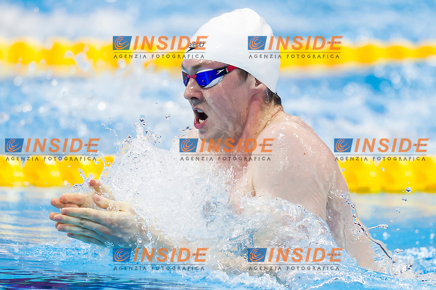 MURDOCH Ross GBR<br /> London, Queen Elizabeth II Olympic Park Pool <br /> LEN 2016 European Aquatics Elite Championships <br /> Swimming<br /> Men's 200m breaststroke preliminary  <br /> Day 10 18-05-2016<br /> Photo Giorgio Perottino/Deepbluemedia/Insidefoto