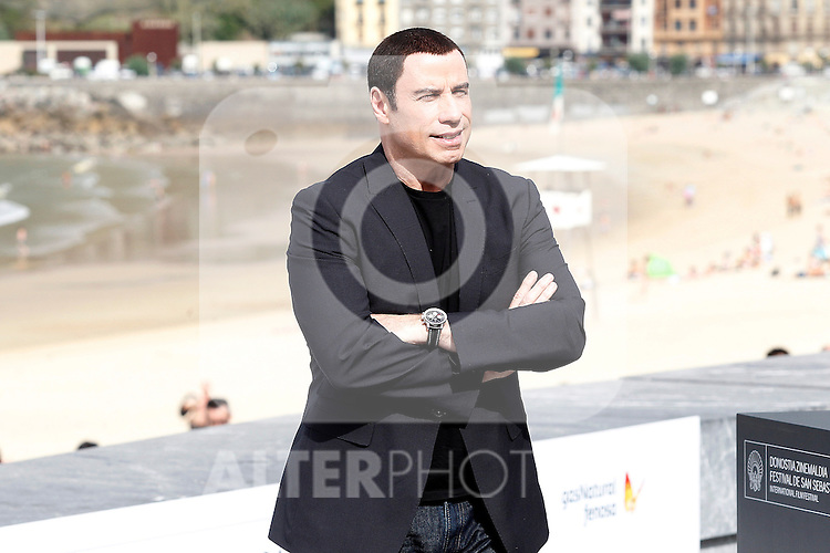 US actor John Travolta attends the photocall of 'Savages' during the 60th San Sebastian Donostia International Film Festival - Zinemaldia.September 23,2012.(ALTERPHOTOS/ALFAQUI/Acero)
