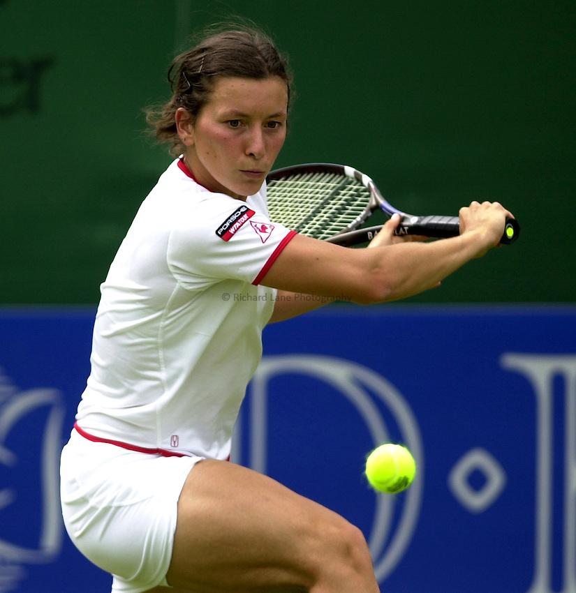 Photo: Richard Lane..DFS Classic Women's International Tennis at Edgebaston. 09/06/2003..Adriana Serra Zanetti.