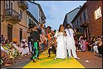 Festa senegalese col gruppo di percussioni Group Lamp Fall, a seguito della sfilata di moda del sarto Malik Niang, ai bagni pubblici di via Agliè. Luglio 2012