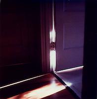 Light through open doorway<br />