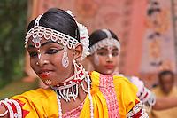 acrobatic gotipua dancer