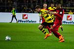 11.03.2018, Signal Iduna Park, Dortmund, GER, 1.FBL, Borussia Dortmund vs Eintracht Frankfurt, <br /> <br /> im Bild | picture shows:<br /> Duell zwischen Ante Rebic (Eintracht Frankfurt #17) und Lukasz Piszczek (Borussia Dortmund #26), der sich gegen den Frankfurter durchsetzt, <br /> <br /> <br /> Foto &copy; nordphoto / Rauch