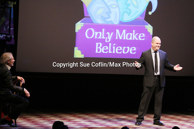 - Only Make Believe on Broadway - 14th Annual Gala - on November 4, 2013 hosted by Sir Ian McKellen honoring Susan Sarandon in New York City, New York.  (Photo by Sue Coflin/Max Photos)