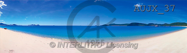 Dr. Xiong, LANDSCAPES, panoramic, photos, beach ocean, Australia(AUJX37,#L#)