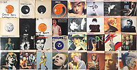 BNPS.co.uk (01202 558833)<br /> Pic: OmegaAuctions/BNPS<br /> <br /> PICTURED:  The sale included a large collection of David Bowie records.<br /> <br /> The first ever played Beatles record has sold at auction for over £20,000 leading an £80,000 sale of music memorabilia amassed by a veteran radio DJ.<br /> <br /> Tony Prince worked for Radio Luxembourg which was the first to give air time to the Fab Four.<br /> <br /> On the evening of October 5, 1962, the pirate radio station broadcast their debut 7in single. <br /> <br /> It was the first time the people of the UK got to hear the ground-breaking music of The Beatles.