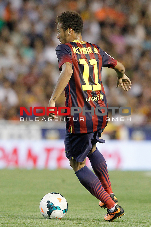 FC Barcelona's Neymar Santos Jr during La Liga match.September 1,2013. Foto © nph / Acero)