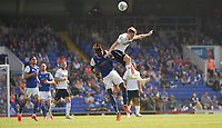 Swansea City's George Byers battles with Ipswich Town's Trevoh Chalobah<br /> <br /> Photographer Hannah Fountain/CameraSport<br /> <br /> The EFL Sky Bet Championship - Ipswich Town v Swansea City - Monday 22nd April 2019 - Portman Road - Ipswich<br /> <br /> World Copyright © 2019 CameraSport. All rights reserved. 43 Linden Ave. Countesthorpe. Leicester. England. LE8 5PG - Tel: +44 (0) 116 277 4147 - admin@camerasport.com - www.camerasport.com