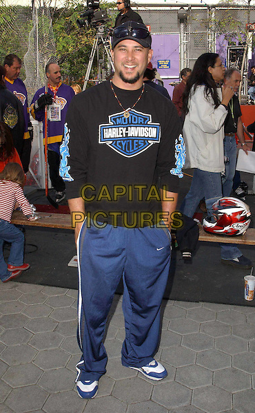CRIS JUDD.plays ice hockey at the 2nd Annual NHL All-Stars Fundraiser held at the Universal City Walk in Universal City, California .28/11/2003.sport, full length, full-length, tracksuit bottoms, trainers.www.capitalpictures.com.sales@capitalpictures.com.©Capital Pictures.