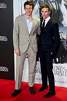 Eddie Redmayne and Callum Turner attends to Fantastic Beasts: The Crimes of Grindelwald film premiere during the Madrid Premiere Week at Kinepolis in Pozuelo de Alarcon, Spain. November 15, 2018. (ALTERPHOTOS/A. Perez Meca) /NortePhoto