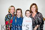 Valarie Claret, Eva Spellman, Sabra Hickey and Carolann Spellman at the Killarney I'm a Celebrity in the INEC on Thursday night