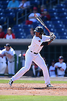 Louisville Cardinals outfielder Corey Ray (2) at bat during a game against the Cal State Fullerton Titans on February 15, 2015 at Bright House Field in Clearwater, Florida.  Cal State Fullerton defeated Louisville 8-6.  (Mike Janes/Four Seam Images)