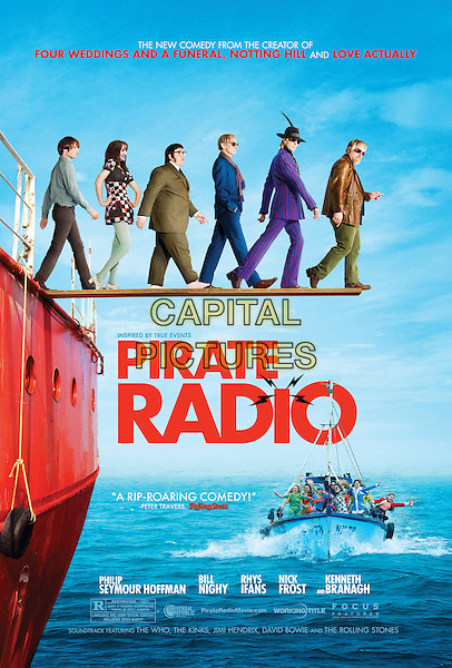 POSTER ART.Pirate Radio (2009).*Filmstill - Editorial Use Only*.CAP/FB.Supplied by Capital Pictures.
