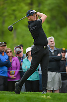 Matthew Wallace (ENG) watches his tee shot on 6 during round 4 of the 2019 PGA Championship, Bethpage Black Golf Course, New York, New York,  USA. 5/19/2019.<br /> Picture: Golffile | Ken Murray<br /> <br /> <br /> All photo usage must carry mandatory copyright credit (© Golffile | Ken Murray)